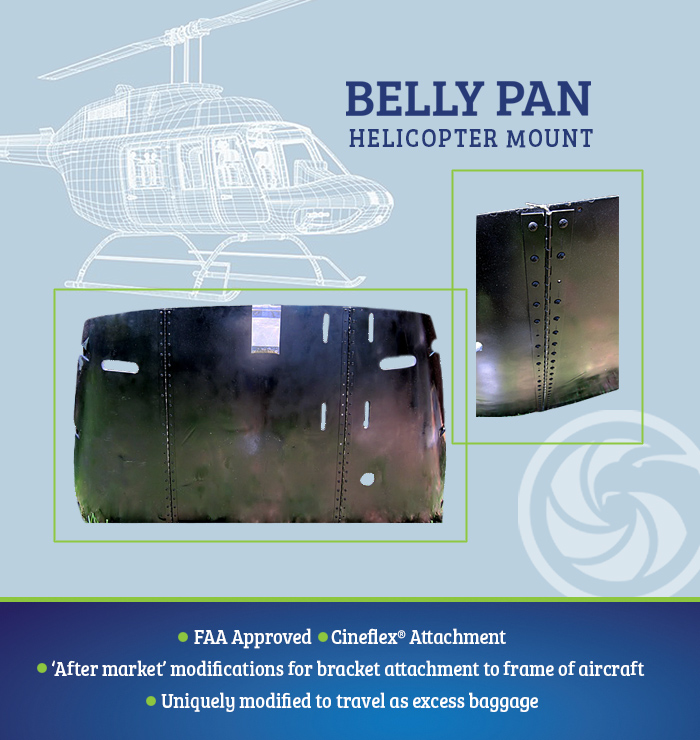 Helicopter Belly Mount